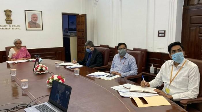 अर्थमन्त्री निर्मला सीतारमणद्वारा जी २० समिति सँग भारतको कोविड १९ प्रतिक्रिया बारे जानकारी साझा