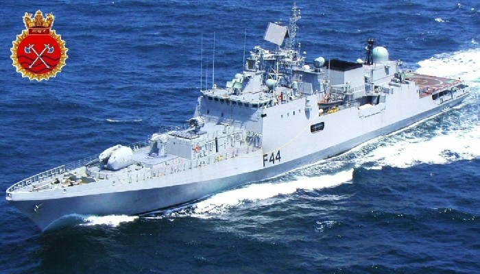 INS Tabar undertakes partnership exercise with Italian Navy in the Mediterranean