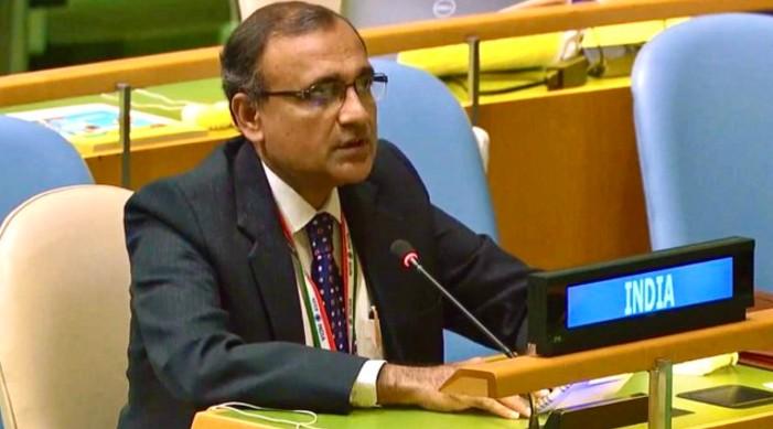 संयुक्त राष्ट्र संघमा भारतको बयान : एसडीजीको स्थानीयकरणका लागि कुनै पनि आकार अनुकुल नहुने