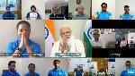 'Entire India is backing you': PM Modi to Tokyo Olympics-bound athletes