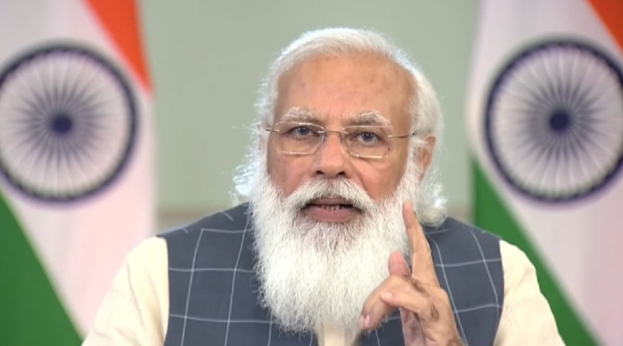 'परीक्षण, निगरानी, उपचार, खोप': कोविड १९ बाट सबै भन्दा बढी प्रभावित राज्यलाई प्रधानमन्त्री मोदीको मंत्र