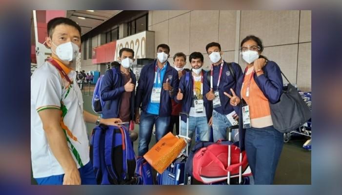 टोक्यो ओलंपिक २०२०: दिल्लीबाट उत्साहजनक विदाई पश्चात भारतीय टोली जापानमा