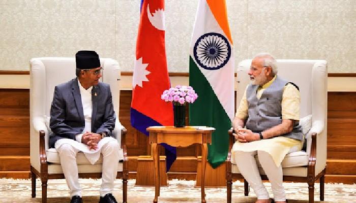 नव नियुक्त प्रधानमन्त्री देउवा र प्रधानमन्त्री मोदी बीच छलफल, नेपालका प्रधानमन्त्री को रुपमा नियुक्त भएकोमा शुभकामना ब्यक्त