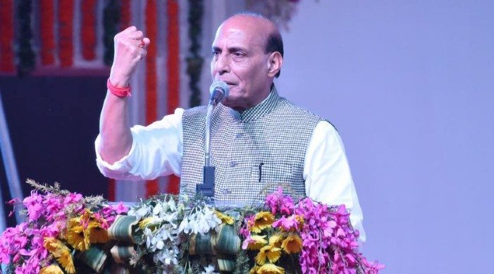 Rajnath Singh leaves for Dushanbe to attend SCO Defence Ministers' meeting
