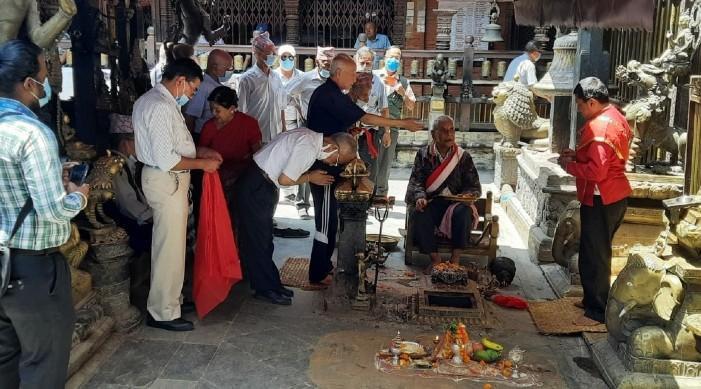 নেপালের ললিতপুরে ভারতের অর্থায়নে ঐতিহ্যবাহী স্থাপনার পুনর্গঠন কাজ শুরু