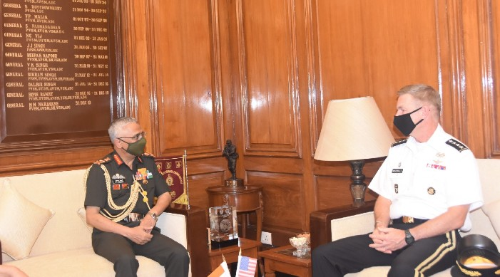 US Army Chief arrives in India, discusses issues of mutual interest with Indian Army Chief