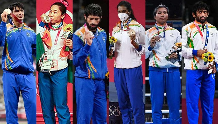 India records highest-ever medal haul at Tokyo Olympics 2020