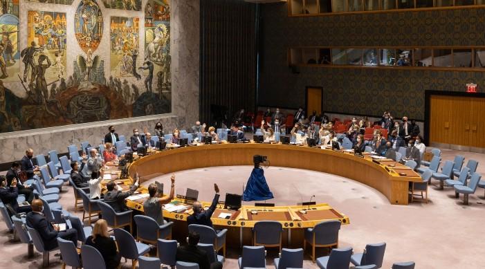 संयुक्त राष्ट्रसंघ सुरक्षा परिषदमा भारतद्वारा अफगानिस्तान सम्बन्धी प्रस्ताव पारित