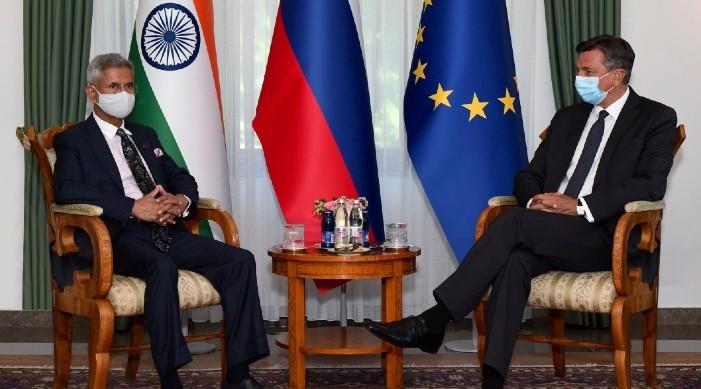 भारतीय विदेश मन्त्री जयशंकर र स्लोभेनियाका राष्ट्रपति बीच भेट, भारत र युरोपेली संघ ले सामना गर्नु परिरहेको प्रमुख चुनौतिहरु बारे