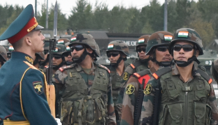 India, Russia military exercise ZAPAD 2021 opens in Russia's Novgograd region