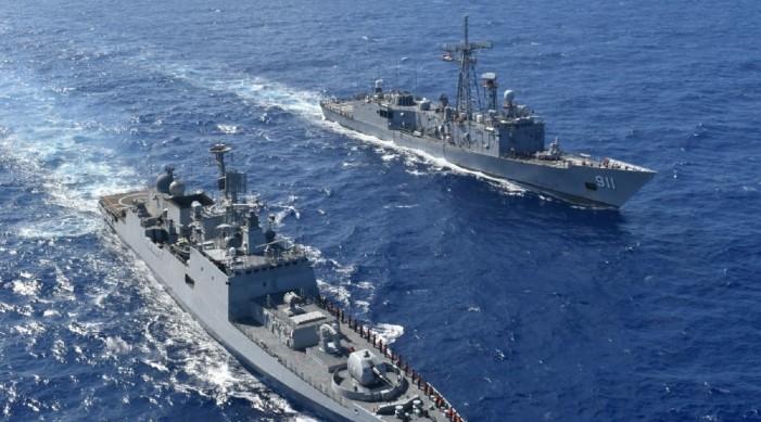 आईएनएस तबर ने भूमध्य सागर में मिस्र की नौसेना के साथ समुद्री अभ्यास में भाग लिया