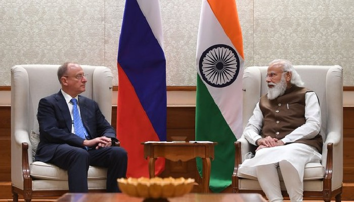 Russian NSA calls on PM Modi, expresses Moscow's commitment to strong partnership with India