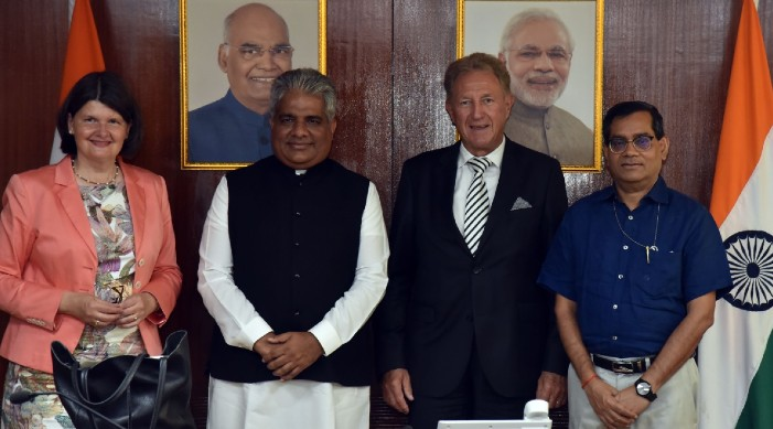 भारत, जर्मनी सर्कुलर अर्थव्यवस्था, ठोस अपशिष्ट प्रबंधन पर सहयोग तलाशने पर सहमत