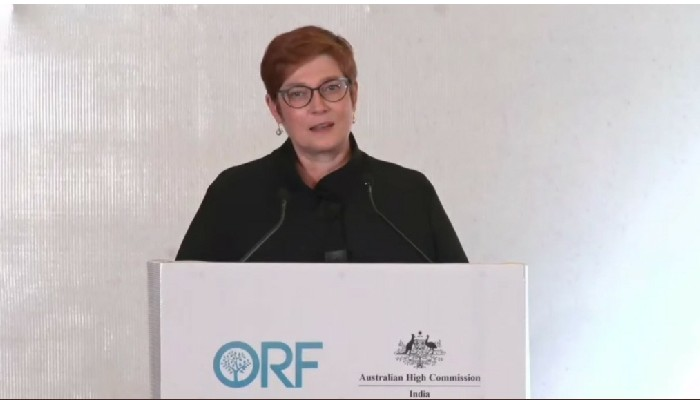 India showing leadership in contributing to peaceful, secure & prosperous region: Australian Foreign Minister