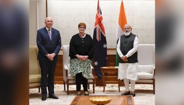 उत्पादक भारत-ऑस्ट्रेलिया 2+2 वार्ता बढ़ते रणनीतिक अभिसरण का संकेत: पीएम मोदी