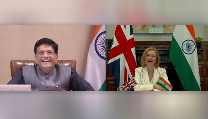भारत और यूके ने शीघ्र फसल सौदे, व्यापक मुक्त व्यापार समझौते पर चर्चा की