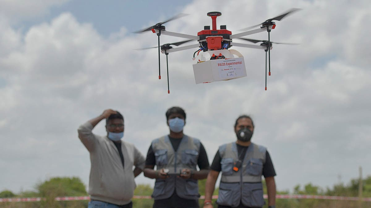 ICMR to use drones for Covid-19 vaccine delivery in Andaman & Nicobar Islands, Manipur, and Nagaland