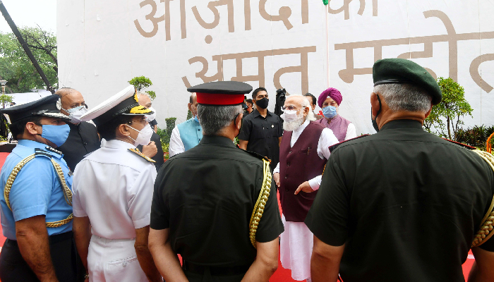 PM Modi hails new Defence Offices Complexes in Delhi as symbols of 'AatmNirbhar Bharat'