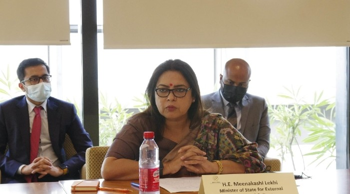 India has taken up 98 connectivity projects  in five countries: MoS Lekhi