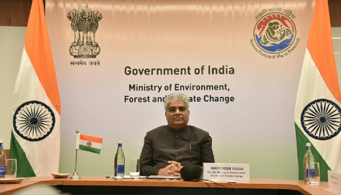 Combating climate change a shared global challenge: Environment Minister Bhupender Yadav