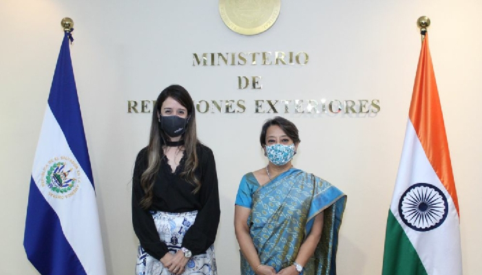 India, El Salvador comprehensively review entire gamut of bilateral relations