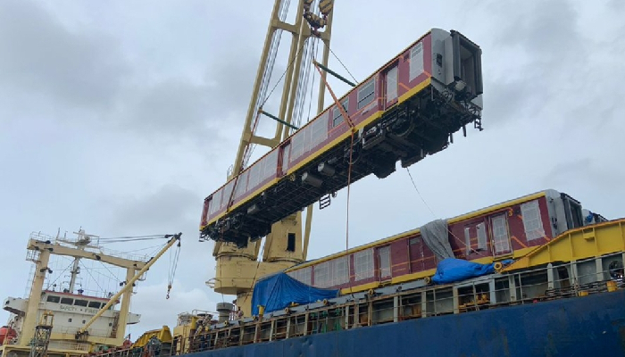 India, Sri Lanka cooperation in transport sector continues, 20 more railway passenger coaches reach Colombo