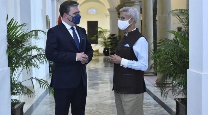 जयशंकर ने सर्बियाई विदेश मंत्री से मुलाकात की, आर्थिक सहयोग को आगे बढ़ाने पर सहमति जताई