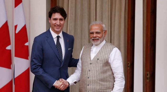 निर्वाचन मा जित हासिल गरेका क्यानाडाका प्रधानमन्त्री जस्टिन ट्रुडोलाई प्रधानमन्त्री नरेन्द्र मोदीको बधाई