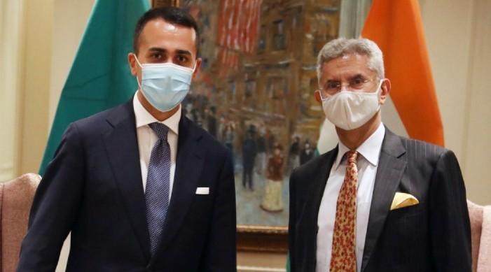 EAM Jaishankar meets Italian counterpart, discusses vaccine accessibility, smooth travel
