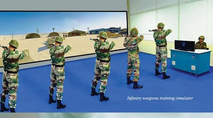 सशस्त्र बलद्वारा सिमुलेटरको प्रयोग वृद्धि का निम्ति भारतद्वारा आवश्यक ढाँचाको अनावरण