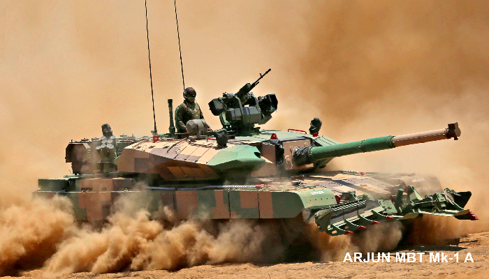 India places order for 118 MBT Arjun Mk-1A for Army