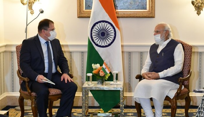 प्रधानमन्त्री मोदी र पाँच अमेरिकी कम्पनीका प्रमुख कार्यकारी अधिकृत बीच कुराकानी, भारतमा लगानीको अवसरका बारे छलफल