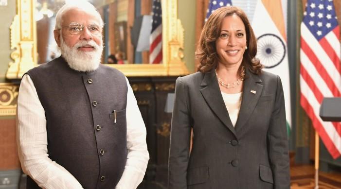 भारतीय प्रधानमन्त्री नरेन्द्र मोदी र अमेरिकी उपराष्ट्रपति कमला हैरिस बीच भेट,   अफगानिस्तान र हिन्द प्रशान्त क्षेत्र बारे विचार