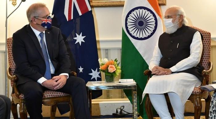 प्रधानमन्त्री मोदी र अस्ट्रेलियाका प्रधानमन्त्री बीच भेट, द्विपक्षीय, क्षेत्रीय र विश्वव्यापी महत्वका मुद्दाहरुमा छलफल