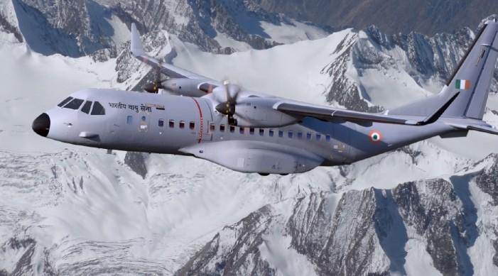 आईएएफका लागि ५६ वटा सी-२९५ परिवहन विमान का लागि भारतद्वारा एयरबस सँग सम्झौता