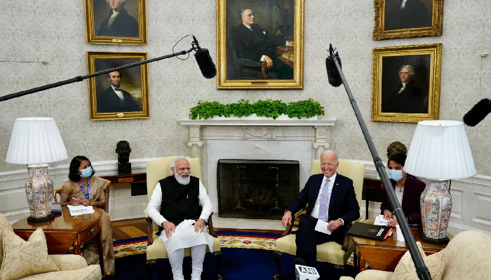 US President Biden supports India's bid for permanent membership in UNSC