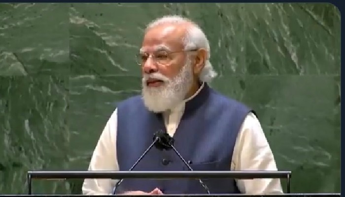 UNGA: PM Modi sends tough message to Pak, calls for world's unity against expansionism