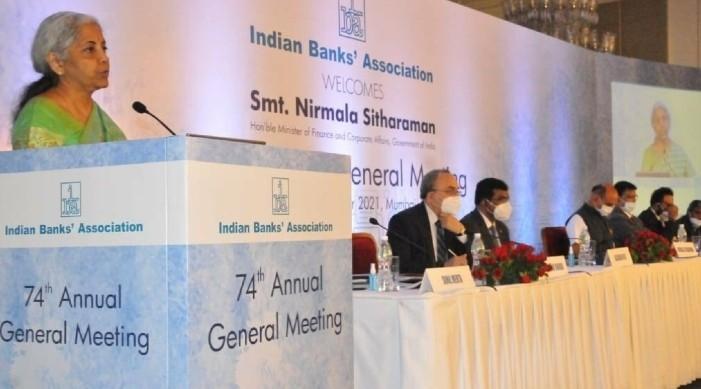 भारतलाई भारतीय स्टेट बैंक जस्तै ४-५ वटा थप बैंकहरुको खाँचो छ: अर्थमन्त्री सीतारमण