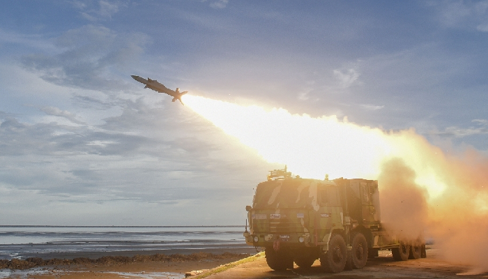 Akash Prime, new version of Akash Missile, has successful maiden flight test