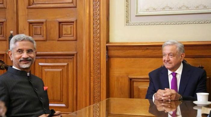 जयशंकर र मेक्सिकोका राष्ट्रपति बीच भेट, दुबै पक्ष द्वारा द्विपक्षीय प्राथमिकता बारे छलफल