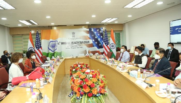 वैश्विक स्वास्थ्य क्षेत्रको लागि भारत र अमेरिका एकबद्ध भएर काम गर्नु आवश्यक: स्वास्थ्य मन्त्री मांडविया