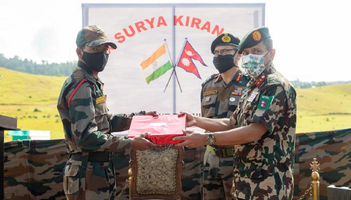 नेपाल-भारत संयुक्त सैन्य अभ्यास 'सूर्य किरण' सम्पन्न