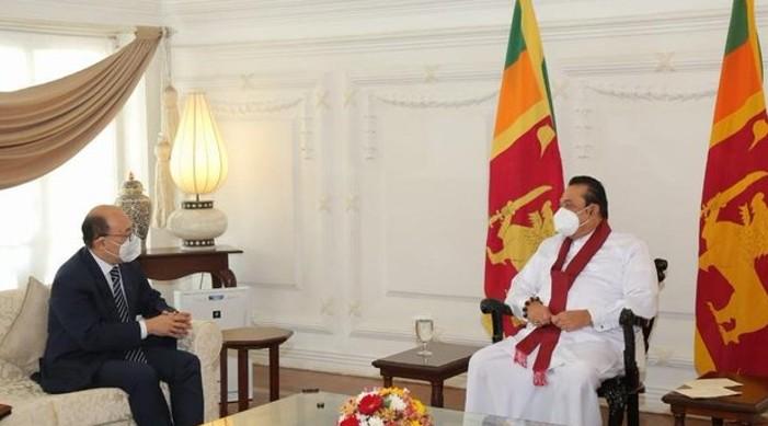 विदेश सचिव हर्षवर्धन श्रृंगला र प्रधानमन्त्री महिन्दा राजापाक्षे बीच भेट, भारत-श्रीलंका बहुआयामिक साझेदारी बारे छलफल