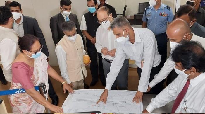 विदेश सचिव हर्षवर्धन श्रृंगला बाट जाफना भ्रमण, भारतीय सहयोग मा निर्माणधिन परियोजना का प्रगति को समीक्षा