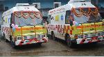 India hands over life support ambulances to hospitals at Sylhet in Bangladesh