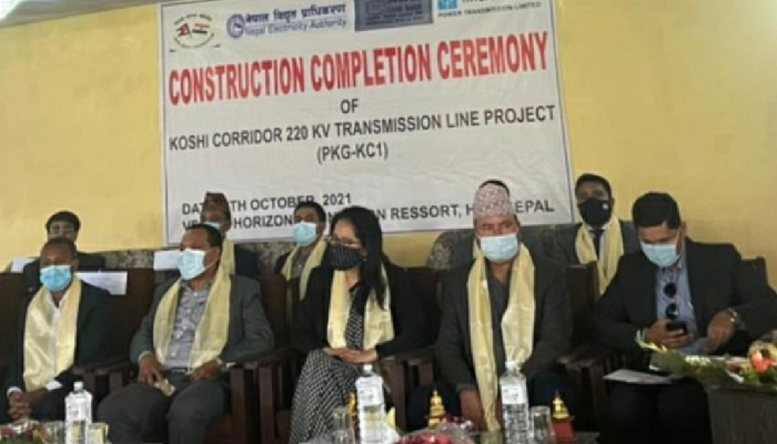 India hands over first phase of Koshi Corridor Power Transmission Line to Nepal