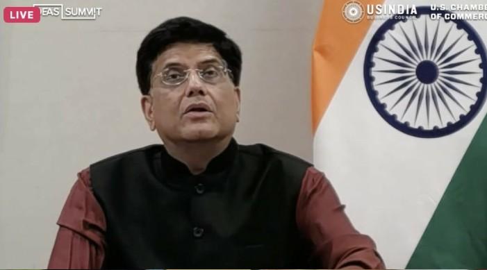 स्वतन्त्र, समृद्ध हिन्द-प्रशान्त क्षेत्र को केन्द्र भारत-अमेरिका साझेदारी : पीयूष गोयल