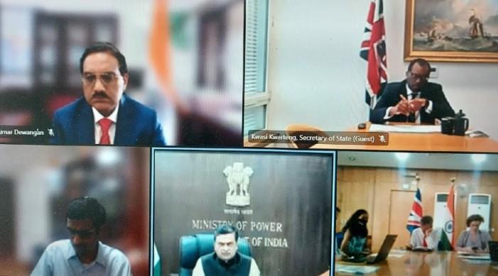 भारत, ब्रिटेन बिजली के क्षेत्र में स्वच्छ ऊर्जा संक्रमण को बढ़ावा देने के लिए घनिष्ठ सहयोग पर हुए सहमत