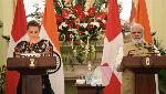 India &  Denmark exchange four MoUs,  including in water resources and skill development