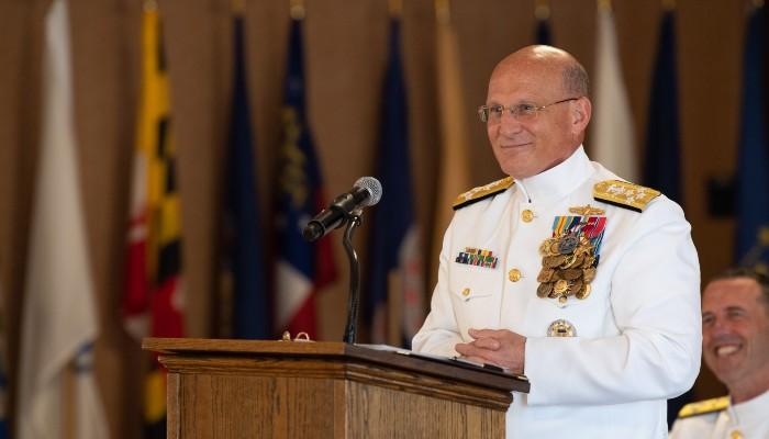 अमेरिकी नौसेना के नौसेना प्रमुख एडम गिल्डे पांच दिवसीय यात्रा पर भारत पहुंचे